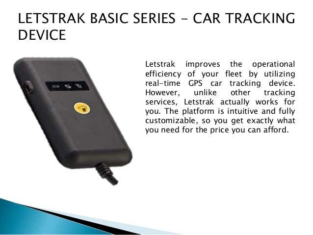 4 letstrak basic series car tracking