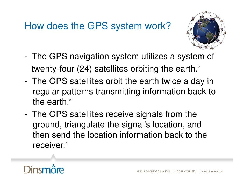 how to work your gps The global positioning system (gps) if you do the same for satellites b and c, you can work out your location by seeing where the three circles intersect.