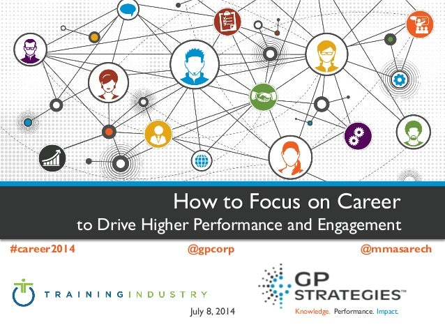 Knowledge. Performance. Impact. How to Focus on Career  to Drive Higher Performance and Engagement  #career2014@gpcorp@mma...