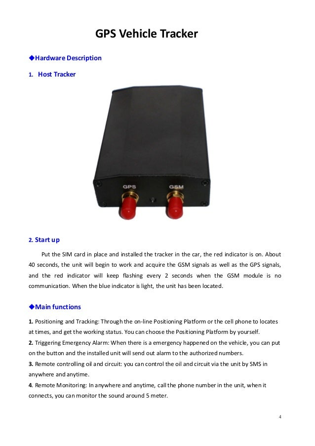 top peak electronics co limited hot gps tracker user manual rh slideshare net user manual gosund wireless wi-fi doorbell user manual gps tracker