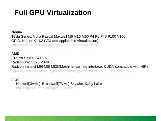 GPU Virtualization in SUSE