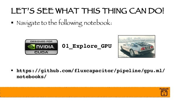 High Performance Distributed TensorFlow with GPUs - Nvidia