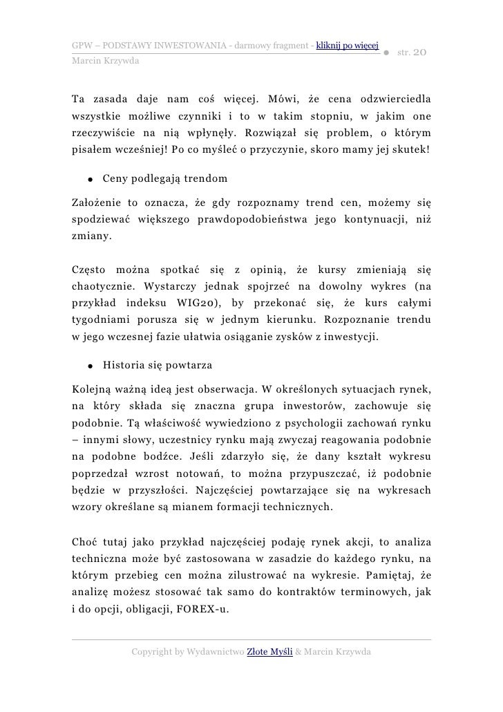 Forex podstawy ebook