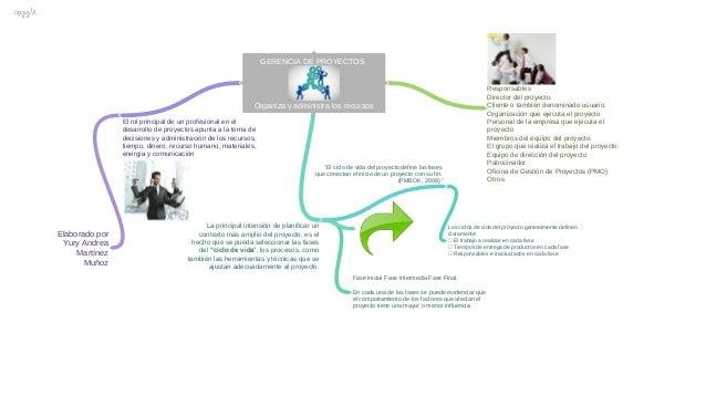 GERENCIA DE PROYECTOS Organiza y administra los recursos El rol principal de un profesional en el desarrollo de proyectos ...