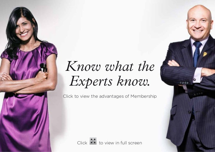 Know what the Experts know.Click to view the advantages of Membership      Click     to view in full screen