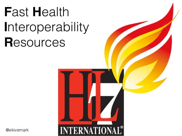 Fast Health Interoperability Resources @ekivemark