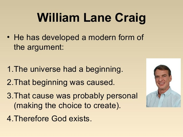 a critical evaluation on the cosmological argument for the existence of god The cosmological argument  a critical examination of  the book ends with a discussion on the importance of god's existence and a general evaluation of the.