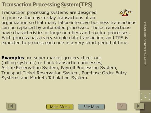 how can a transaction processing system help an organization management information system and decis Hospital management system a project report submitted on hospital management system for a hospital in greater noida department of information technology.