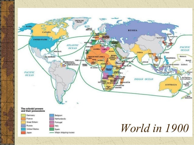 World in 1900