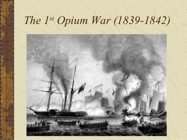 """Legacy of the Opium War """"Unequal Treaties"""" – Opens 5 ports to trade with Britain British gain control of Hong Kong British..."""