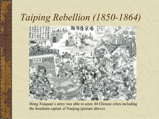 Aftermath of the Taiping Rebellion Self-Strengthening Movement – Modernize the army – Improve infrastructure – Relied on f...
