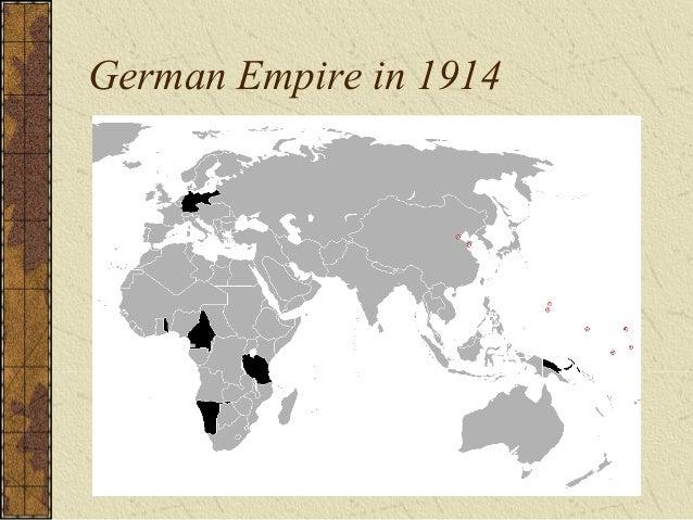 German Empire in 1914