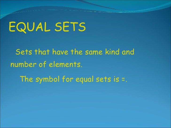 Gr noah s ark equal sets