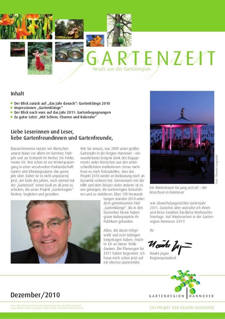 GartenzeitI T                                                              GARTENZE           Neues aus der GartenregionIn...