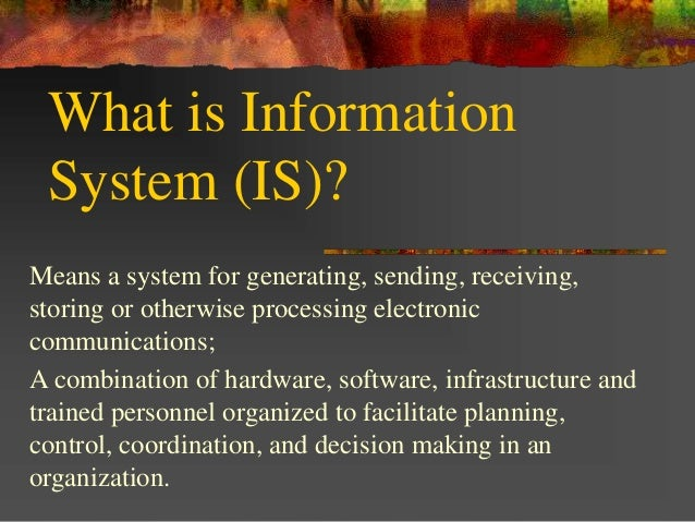 importance of information systems Information systems architecture can assist an organization in automating manual tasks  the most important role of an information system in an organization is to .