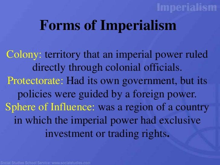 Gr 10 imperialism factors