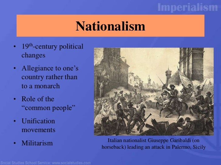a discussion of the role of imperialism and nationalism in the united states in the 19th century The variety of factors that motivated the united states to  and consequences of imperialism of the late-19th and early-20th century  role did nationalism.