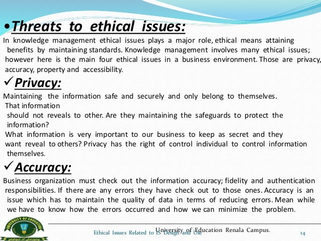ethical issues computers One of the most neglected areas of most computer security professionals' training is how to deal with the ethical issues that crop up during the course of doing your job.