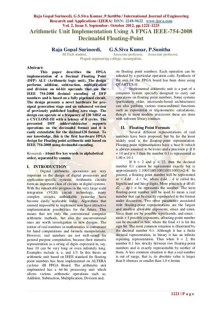 Raja Gopal Surineedi, G.S.Siva Kumar, P.Sunitha / International Journal of Engineering            Research and Application...