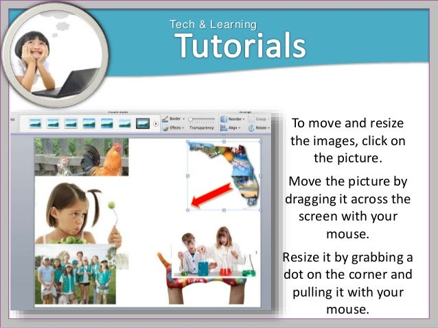 how to make a photo collage with powerpoint