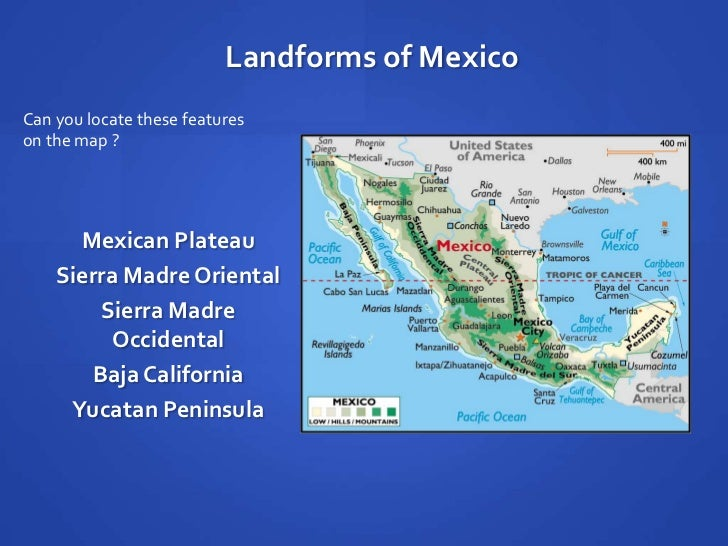 Mexican Plateau Map – images free download - Mexican Plateau Map ...
