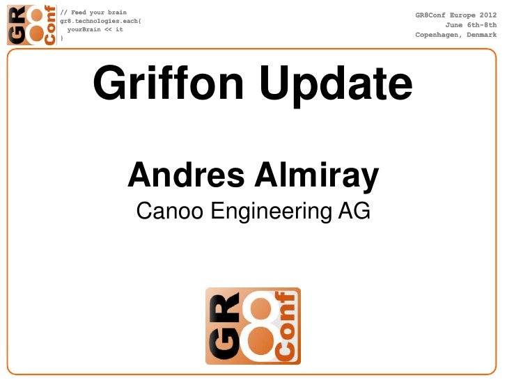 Griffon Update Andres Almiray Canoo Engineering AG