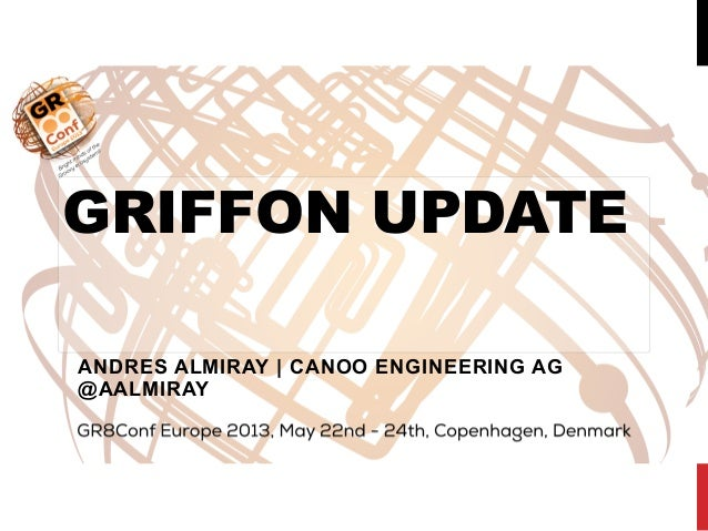 GRIFFON UPDATEANDRES ALMIRAY | CANOO ENGINEERING AG@AALMIRAY