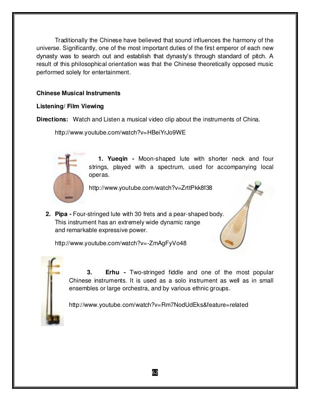 Grade 8 Music and Arts Module