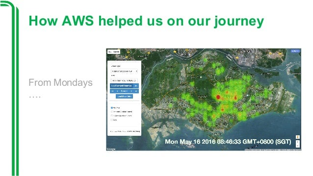 Opening KeynoteGrab AWS Summit SG - Us map keynote