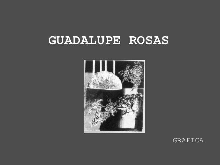 GUADALUPE ROSAS                  GRAFICA