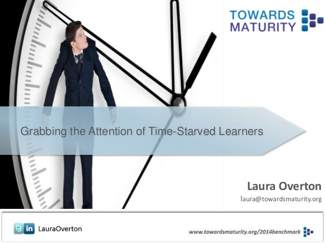 17th June 2014 Laura Overton laura@towardsmaturity.org Grabbing the Attention of Time-Starved Learners
