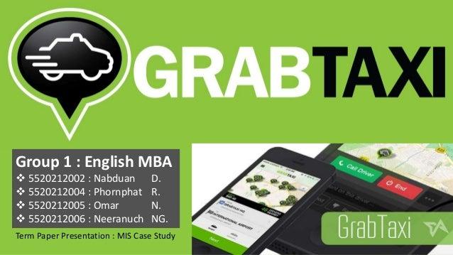 Group 1 : English MBA  5520212002 : Nabduan D.  5520212004 : Phornphat R.  5520212005 : Omar N.  5520212006 : Neeranuc...