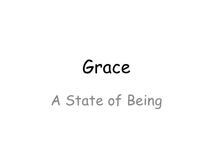 GraceA State of Being