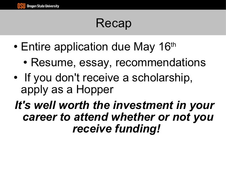 recommendations continued 30 grace hopper resume database - Grace Hopper Resume Database