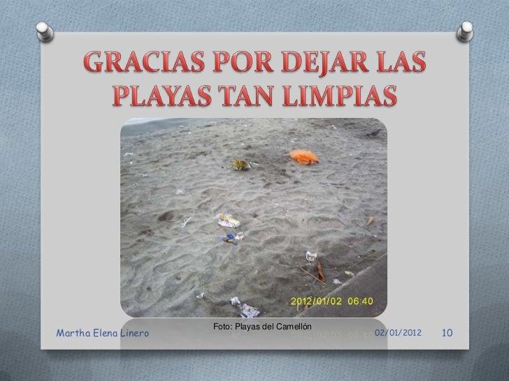 Foto: Playas del CamellónMartha Elena Linero                               02/01/2012   11
