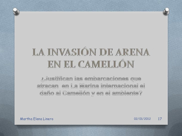 Foto: El Camellón, la arena cubre elMartha Elena Linero                adoquín                   02/01/2012   18