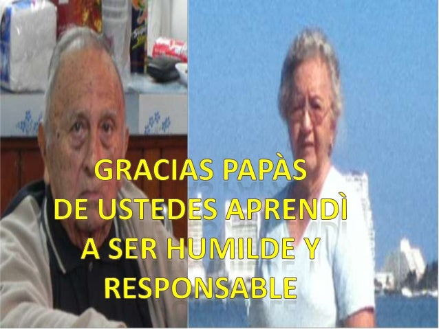 GRACIAS PAPAS