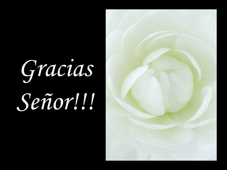 Gracias Señor!!!