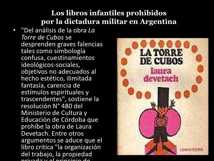 libros infantiles prohibidos en la dictadura militar