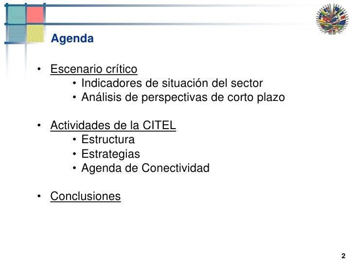 2<br />Agenda<br />Escenario crítico<br />Indicadores de situación del sector<br />Análisis de perspectivas de corto plazo...