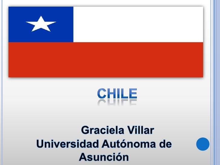 Chile es un país de América, ubicado en el extremo sudoeste de América del Sur y a lolargo de una zona altamente sísmica y...