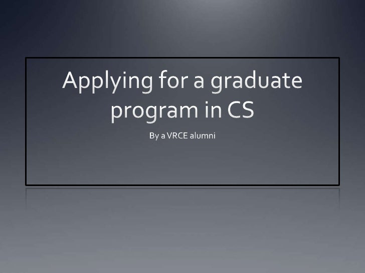 Outline    Why MS?     Application Process        Relevant Exams        University Selection        SOP        Lette...