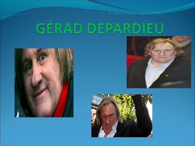 BIOGRAPHIEGérard Xavier Marcel Depardieu est un acteurproducteur de cinéma français et homme daffairesamateur, né à Châtea...