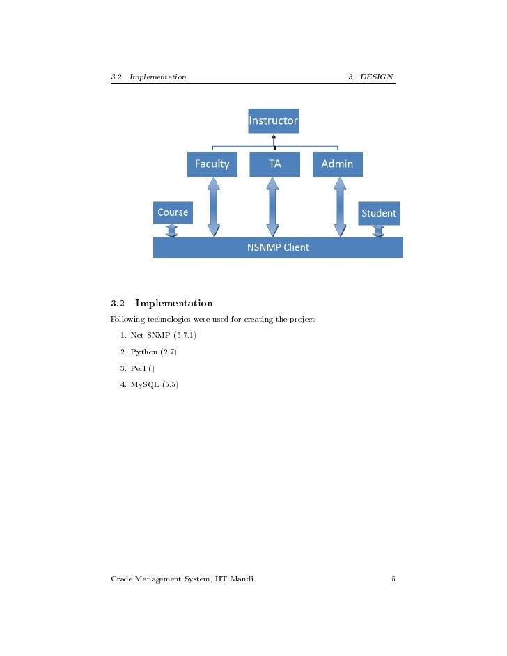 Grade management-using-snmp-design-doc