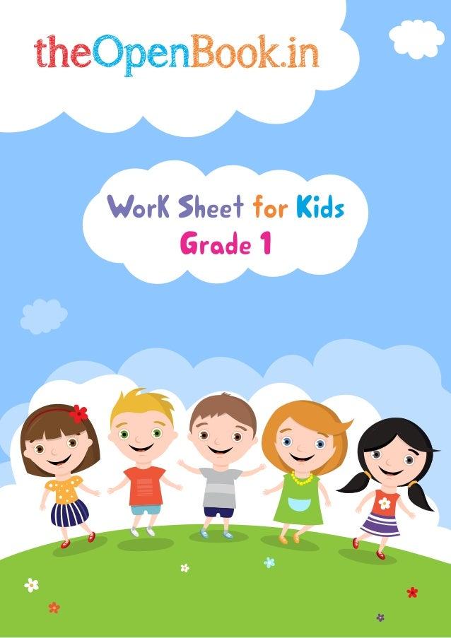 Grade 1 Workbook