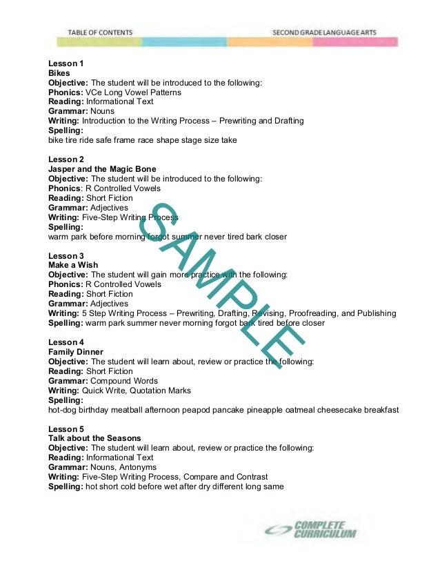 2nd Grade Homeschool Curriculum Second Grade Homeschool Reading L