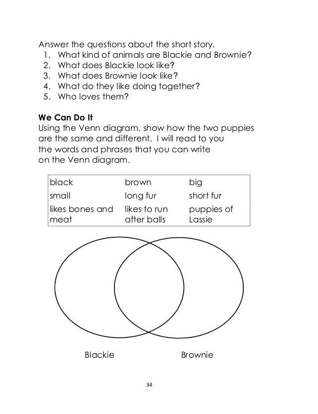 Short story using venn diagram complete wiring diagrams grade 2 english lm unit 2 rh slideshare net venn diagram for 1st grade venn diagram with lines ccuart Gallery