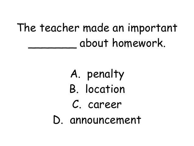 Grade 2 lesson 5 vocabulary power point