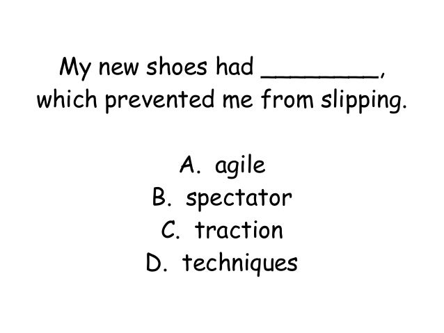 Grade 2 lesson 6 vocabulary power point