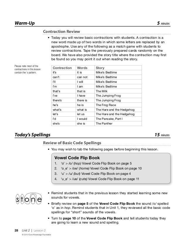 Spelling Connections Grade 6 Unit 10 - zaner bloser ...